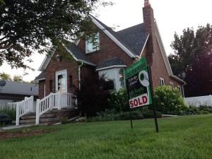 Haus verkauft